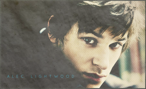 alec lightwood. by xxtheSilent