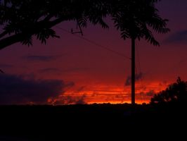 The Golding of another Sunset by jerrinator