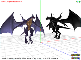 MMD Bahamut and Tiamont DL by Valforwing