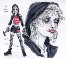 Harley Quinn-TDK concept by Magzdilla
