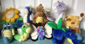 Taiwan Mirage Pokemon Plush Collection by MizukiiMoon