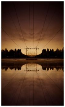 Power line by 4k1