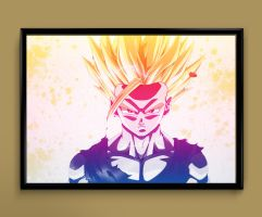 Gohan1 by ColourInk