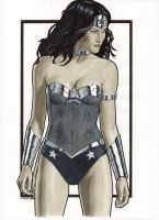 Wonder Woman New 52 by Promethean-Arts