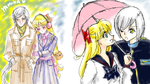 Paintchat with Asako by unconventionalsenshi