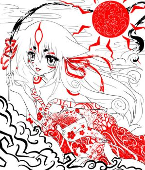 Ammy by Paranoid-Duckkie