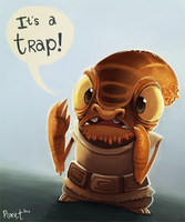 1.6 -  Admiral Ackbar (1hr + 5 minutes) by Cryptid-Creations