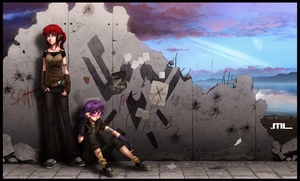DF Saga - The Wall by MLeth