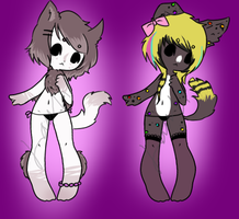Anthro Adopts! [CLOSED] by Dr-Lawliette