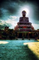 Sitting Buddha of Tumpat by reirainx