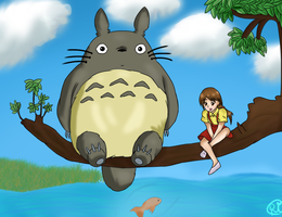 Totoro~ by Rin-luver