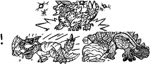 Monster hunter 3 U doodles by TheAsinineCanine