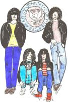 THE RAMONES ROCK by Buhla