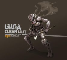 Giga Clean Cut by TraceLandVectorie03