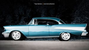 57belair side by AmericanMuscle