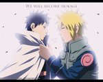 We will become Hokage - Minato and Obito by LiderAlianzaShinobi