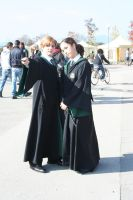 Draco and Pansy-Don't touch her by equiclubecastello