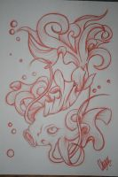 Coy_Coi Fish Tattoo Design by itchysack