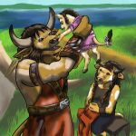 Tauren family - WoW by NetRaptor
