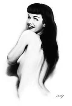 Bettie Page by axlsalles