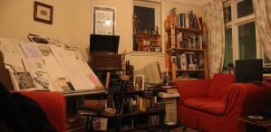 Still Life with Work Space by hesir