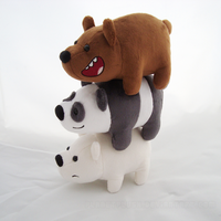 We Bare Bears by PlanetPlush