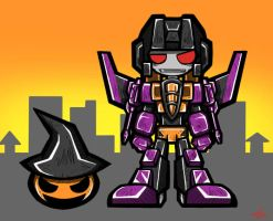 Skywarp Halloween version by Colza666