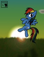 Rainbow by j5furry