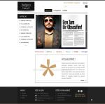 Fashion Travel Magazine Website by Byckoff
