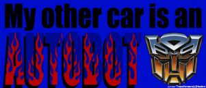 Transformers Bumper Sticker by DartzoftheOrichalcos