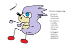 Ricky the Hedgee Hogg by Sexyraptorjesus