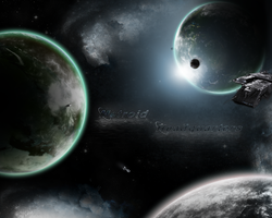Spacy Wallpaper by SmilinDeth