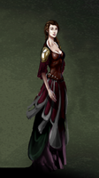 Guinevere colored WIP by Gilmec