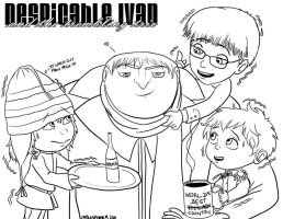 APH - Despicable Ivan by fablespinner