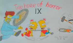 TreeHouse of Horror IX by komi114