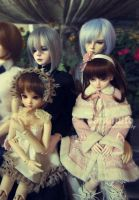 Angel Jointed 1st Dollmeet II by darknaito