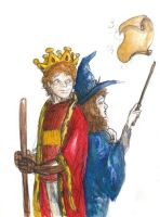 HP - counselor of a King by LevyRasputin
