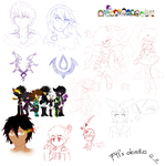 F4l Doodles by Freaky4live