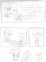 New Sketchbook Intro. Comic by Sheikahchica