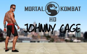 Johnny Cage by molim