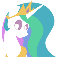 Celestia Portrait by Dragonfoorm