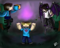 Enderlox , Skybrine and WitherMU by iDarkening