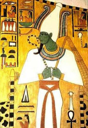 Osiris,Egyptian god of the underworld