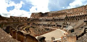The Roman Coliseum by SilverSkies07