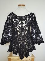 Openwork Crochet Tunic by FearlessFibreArts
