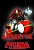 Knuckles the Echidna by Simetra666