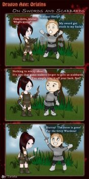 DAO: On Swords and Scabbards by Tarisha