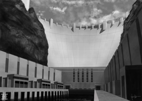 Scene Practice 4 - Hoover Dam by JanTuts