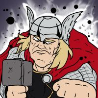 The Mighty Thor by Agent-Jin