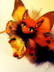Monarch Butterfly Cat FOR SALE by TotemEye